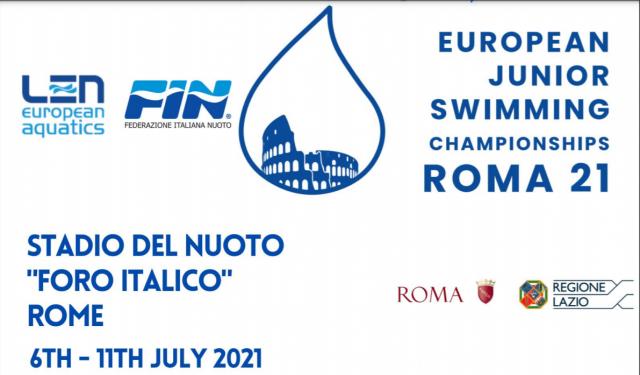 European Junior Swimming Championship 2021 – Roma (ITA)